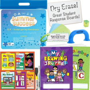 Summer Success Kit - ELA - Kindergarten Readiness - 1 multi-item kit