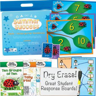 Summer Success Kit - Math - Kindergarten Readiness - 1 multi-item kit