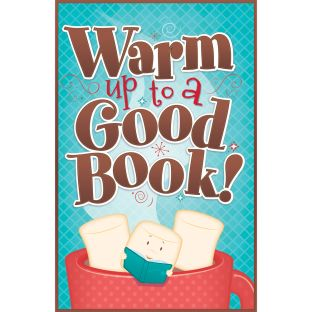 Warm Up To A Good Book Poster - 1 poster