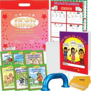 Kit de Verano Exitoso - Listo para grado 1 (Summer Success Kit - SLA - First Grade Readiness)