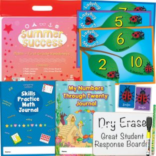Summer Success Kit - Math - First Grade Readiness - 1 multi-item kit