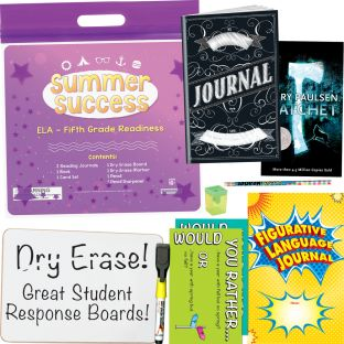 Summer Success Kit - ELA - Fifth Grade Readiness - 1 multi-item kit