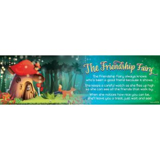 Friendship Fairy Banner - 1 banner