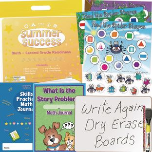 Summer Success Kit - Math - Second Grade Readiness - 1 multi-item kit