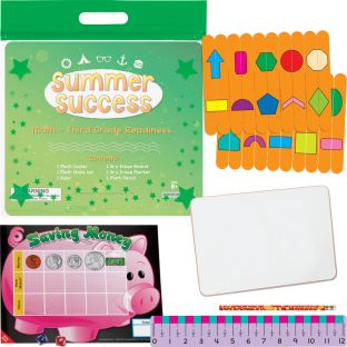 Summer Success Kit - Math - Third Grade Readiness - 1 multi-item kit