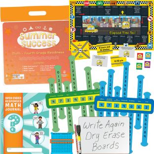 Summer Success Kit - Math - Fourth Grade Readiness - 1 multi-item kit