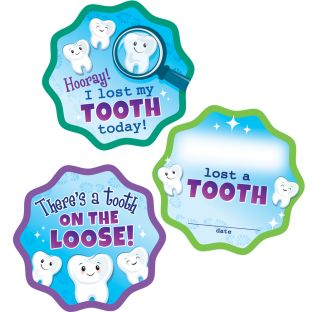 Missing Tooth Stickers