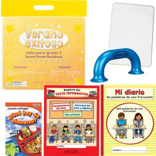 Kit de Verano Exitoso - Listo para grado 2 (Summer Success Kit - SLA - Second Grade Readiness)