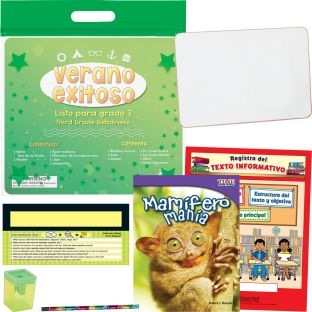 Kit de Verano Exitoso - Listo para grado 3 (Summer Success Kit - SLA - Third Grade Readiness) - 1 multi-item kit