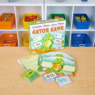 Greater Than, Less Than Gator Game - 1 game