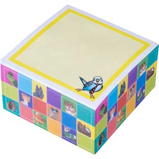 Dressed Pets - Sticky Note Cube - 400 sticky notes