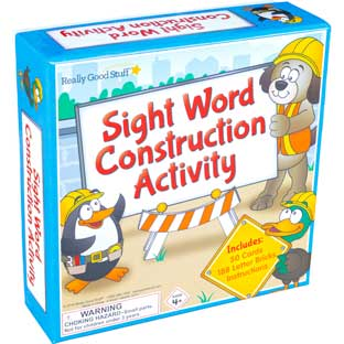 Sight Word Construction Activity