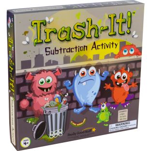 Trash-It™ Subtraction Activity