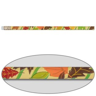 Grateful And Thankful Leaf Pencils