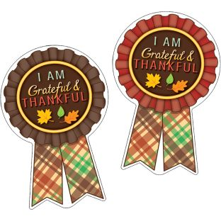 Grateful And Thankful Stickers - 36 stickers