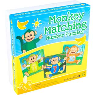 Monkey Matching Number Puzzles