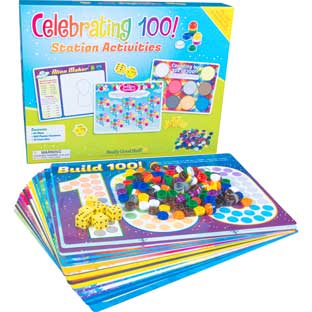 Celebrating 100! Station Activities - multi-item kit