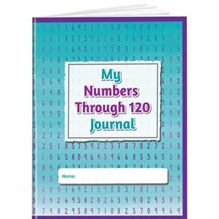 My Numbers Through 120 Journals - 12 structured journals