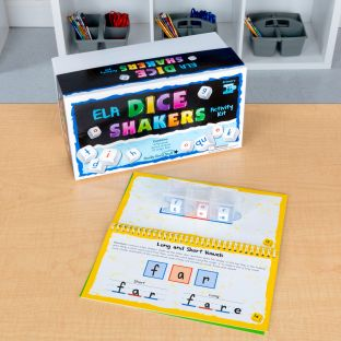 Dice Shakers ELA Kit – Primary - multi-item kit