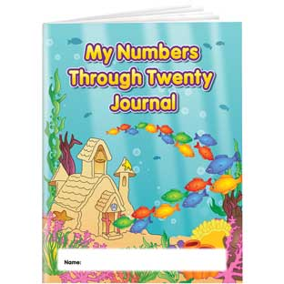 My Numbers Through Twenty Journals