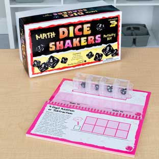 Dice Shakers Math Kit – Intermediate