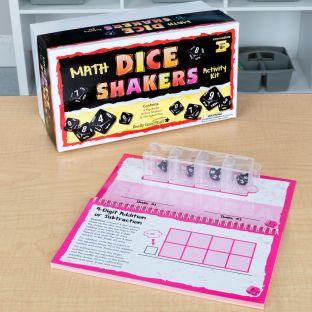 Dice Shakers Math Kit – Intermediate - multi-item kit