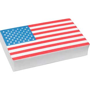 Star-Spangled Teacher Whiteboard Eraser - 1 eraser