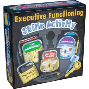 Executive Functioning Skills Activity - 10 puzzles