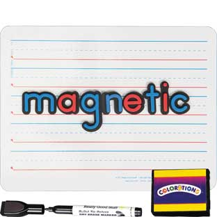 "12"" X 9"" Magnetic Two-Sided Dry Erase Board Set - 24-Pack"