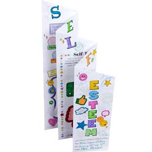 Ready-To-Decorate® Self-Esteem Foldable Posters – Intermediate