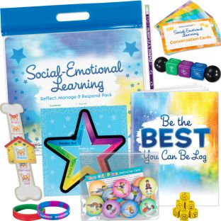 Social-Emotional Learning - Reflect, Manage and Respond Take-Home Pack