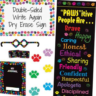 Paw Prints Deluxe Classroom Kit