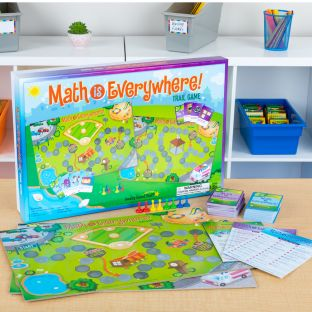 Math Is Everywhere! Trail Game  Primary