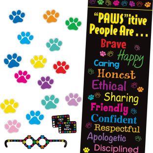 Paw Prints Classroom Kit