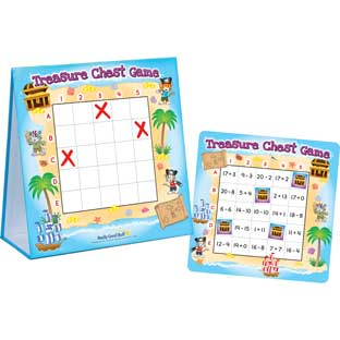 Treasure Chest Addition And Subtraction Game - 1 game