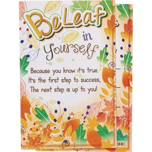 BeLeaf In Yourself Poster