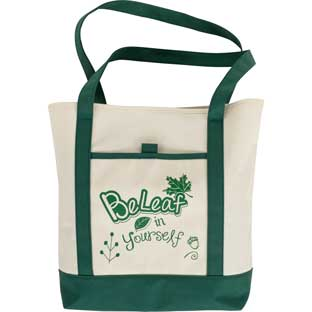 BeLeaf In Yourself Tote Bag - 1 tote bag