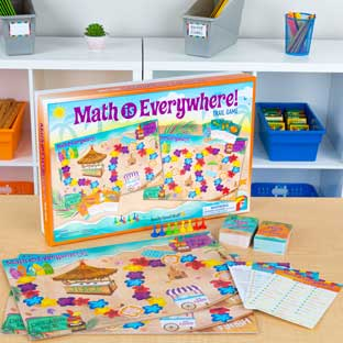 Math Is Everywhere! Trail Game  Intermediate - 1 game