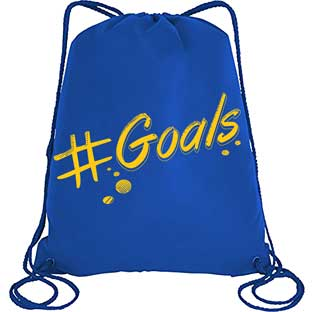 Goals! Drawstring Bag - 1 bag