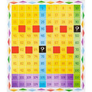 Jumbo Magnetic Chart  120 Grid
