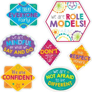 EZ Stick Be A Role Model Wall Decals - 7 decals