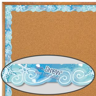 SNOW Border - 12 border sections