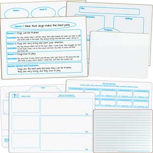 ELA Small Group Dry Erase Board Kit - Intermediate
