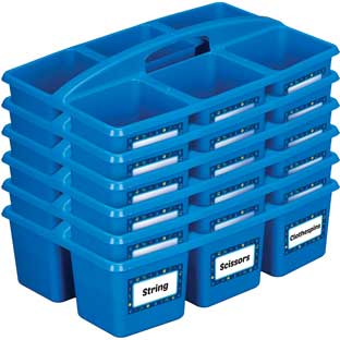STEM Bins And Labels - 6 bins, 108 labels