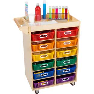 Science Supplies Cart