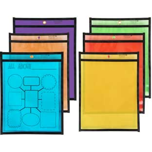 Re-Markable Colored Dry Erase Sleeves