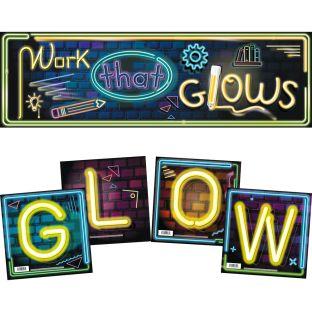 GLOW Inspirational Posters Set