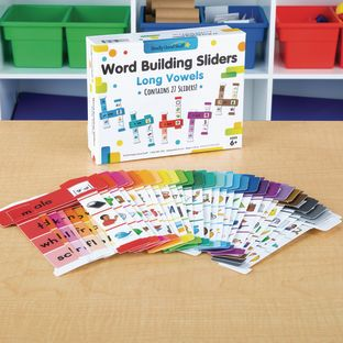 Word Building Sliders: Long Vowels