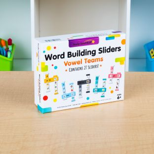 Word Building Sliders: Vowel Teams