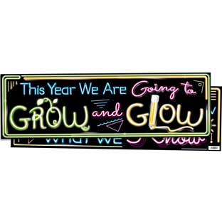 ROW And GLOW Double-Sided Banner
